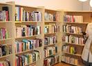 Książki w nowej siedzibie