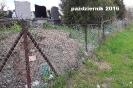 Cmentarz z nowym ogrodzeniem