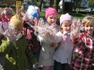 Przedszkolaki posprzątały swoją okolicę