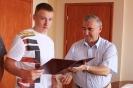 Dawid i Tobiasz - młodzi mistrzowie kolarscy