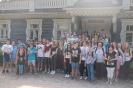 Uczniowie Gimnazjum nr 2 na Zielonej Szkole